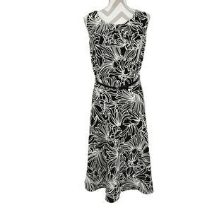 Alyx Floral Prada Midi Dress 24W Plus Size Belt